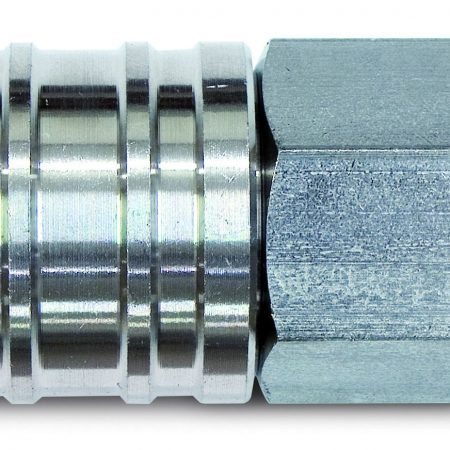 STAINLESS STEEL AISI 316 - QUICK COUPLING SOCKETS AND PLUGS